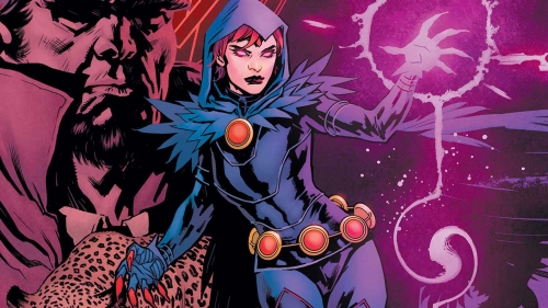 raven,daughter of darkness,dc,marv wolfman,pop mhan. lovern kindzierki